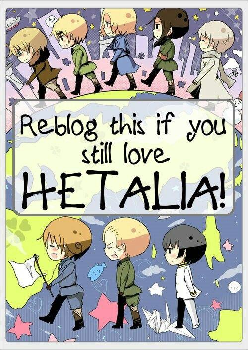 I do! ~ Hetalia