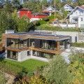 Luxury Villa Melkeveien is wrapped in sustainably sourced Kebony wood in Norway | Inhabitat - Green Design, Innovation, Architecture, Green Building