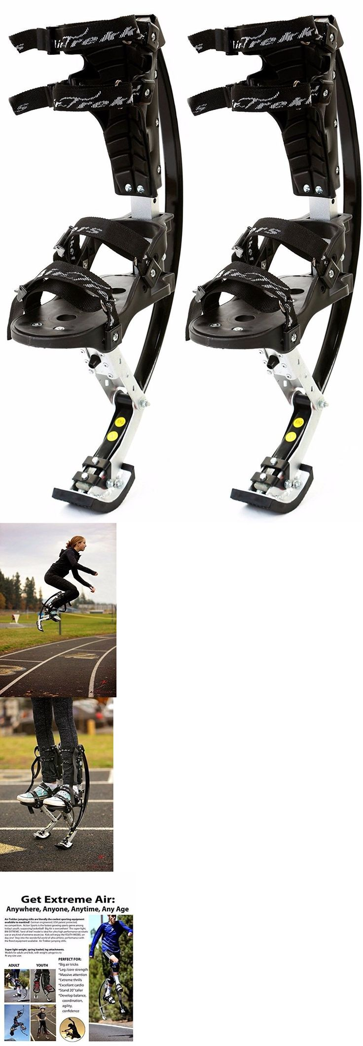 Other Outdoor Sports 159048: New Air Trekkers Jumping Stilts Jump Shoes Youth Large 95-120 Lbs -> BUY IT NOW ONLY: $96 on eBay!