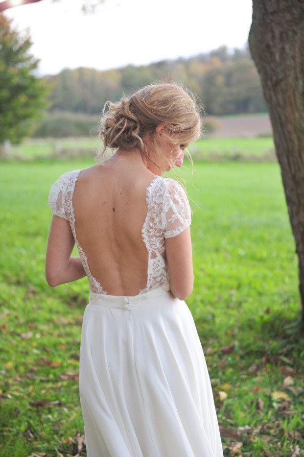 Robe de mariée Marie Catherine le Hodey - La mariee aux pieds nus