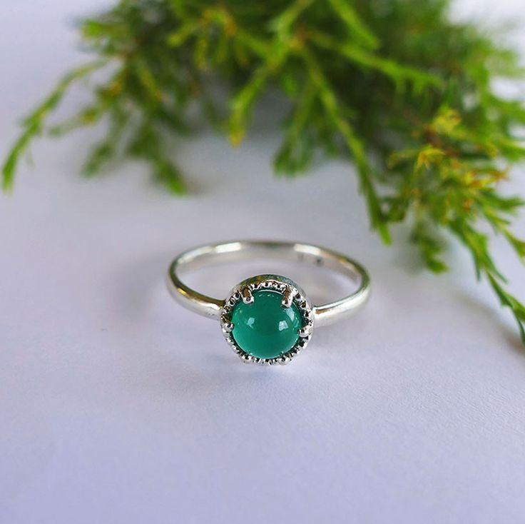 Agate Ring. #greenstone #rings #silver #anniversarygift #handmadejewellery #capetown