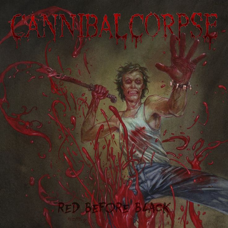 Cannibal Corpse – Red Before Black 2017