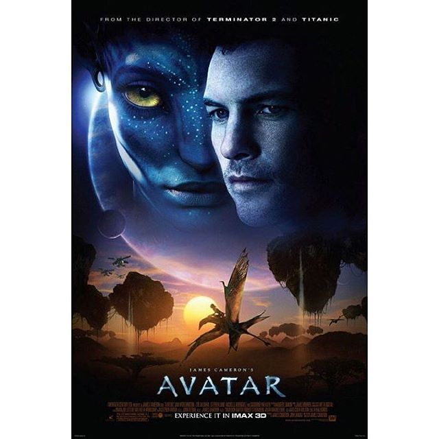 """#TBT the official 2009 #Avatar movie poster.  It appears that we may have an actual release date for #Avatar2 🙀 According to movie pilot.com, Fox released dates for a few of their upcoming flicks, and among the unnamed titles was a """"Lightstorm Entertainment movie"""" (- James Cameron's production co...) set for Dec 21, 2018!  Realistically, tho, given the history of delays with this specific movie, it's left to be seen whether the date will be honored. #StayTuned"""