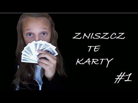 Zniszcz te... KARTY?! #1 ▐ Zabierz karty na spacer▐ #ZTK