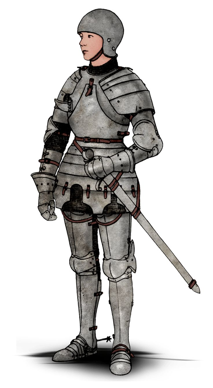 """armoredwomen: """" Image of a White Harness via Jeanne d'Arc La Pucelle. """" A fantastic outfit worthy of Jeanne d'Arc, and the linked web page is also a great resource if you want to see both the..."""