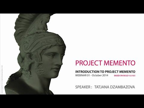 Autodesk Memento Webinar #1 - An Introduction to Project Memento - YouTube