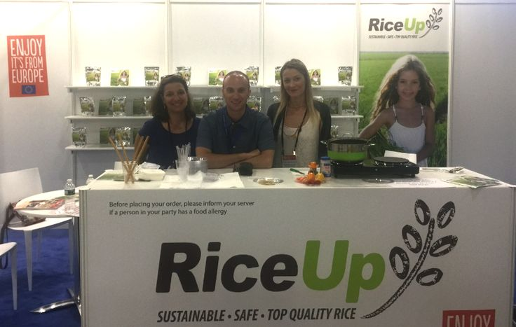 Participation at the Summer Fancy Food N.Y. From the 25th to the 27th of June 2017, the Rice Up Program participated in the Summer Fancy Food Show International Exhibition, held at the Jacob Javits Convention Center in New York!