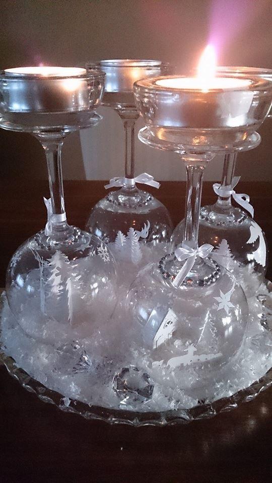 Weihnachten im Glas