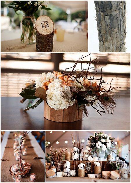 20 best decoration de table images on pinterest wedding ideas natural centerpiece ideas the daily design by koyal wholesale junglespirit Choice Image