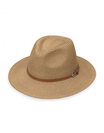 Women's Wallaroo Naples Safari Hat. This stylish fedora hat offers a wide brim for all round protection on your face and neck.
