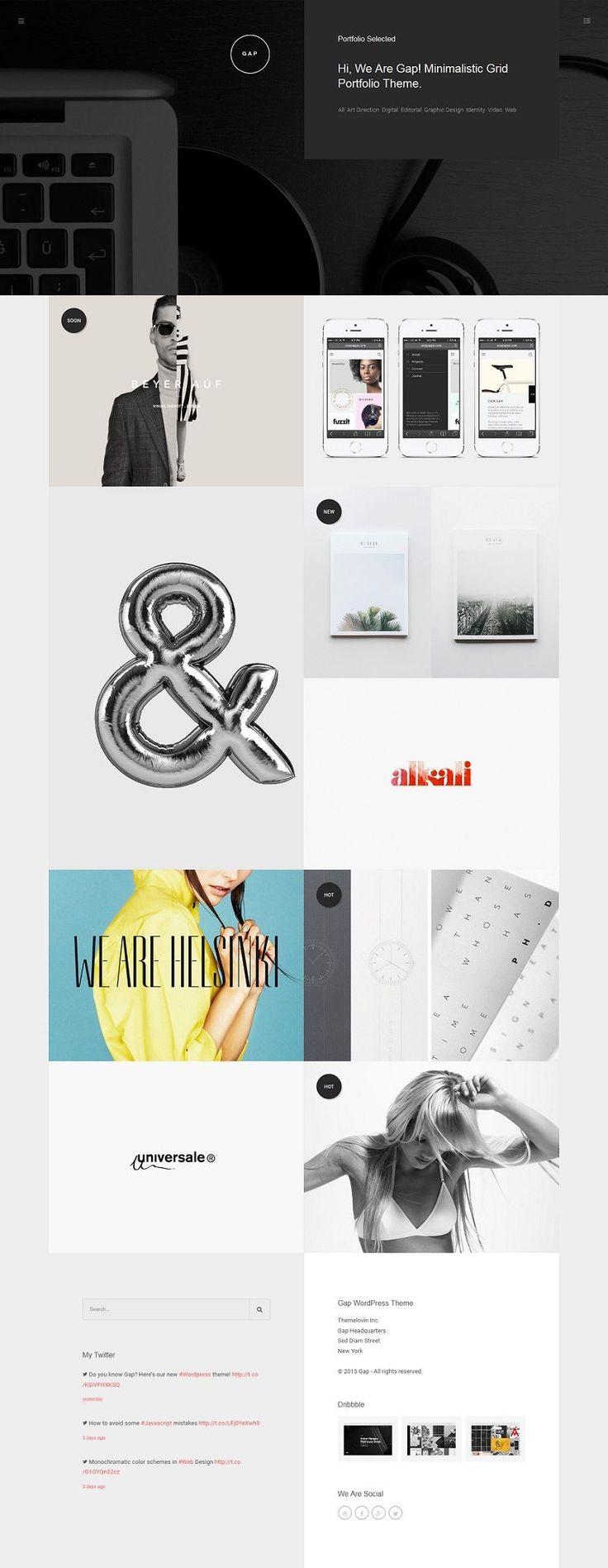 The Most Creative WordPress Themes