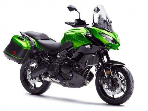 2015 Kawasaki Versys 650 LT green