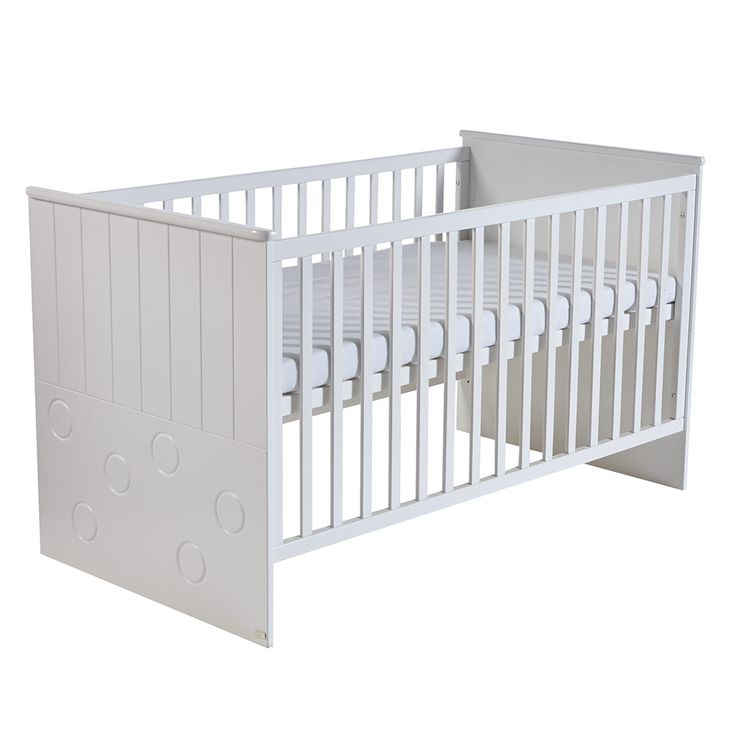 ROBA Kombi-Kinderbett Cambino Play 70 x 140 cm Weiß | Babyartikel.de