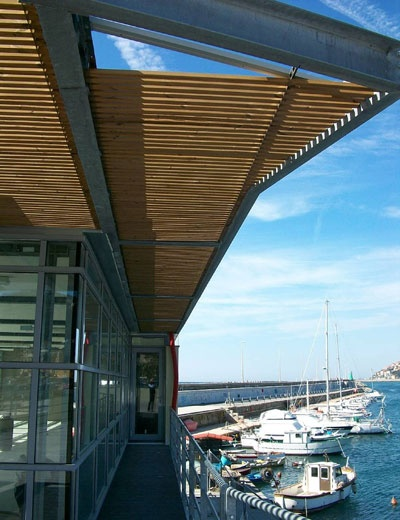 Thermowood port of Imperia