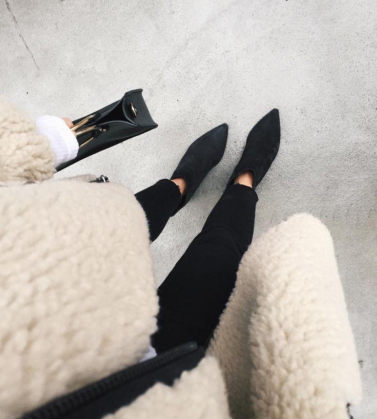 Sherling coat