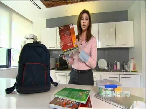 Channel 9 News Feb 2012: Dr Jacey Pryjma & Kids - School Back Packs Causing Spinal Problems In Kids and how Chiropractic can help.