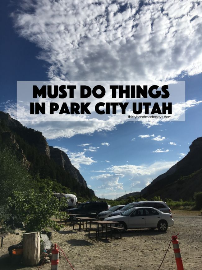 Must do things in Park City, Utah: all the fun things to do when you travel to Park City