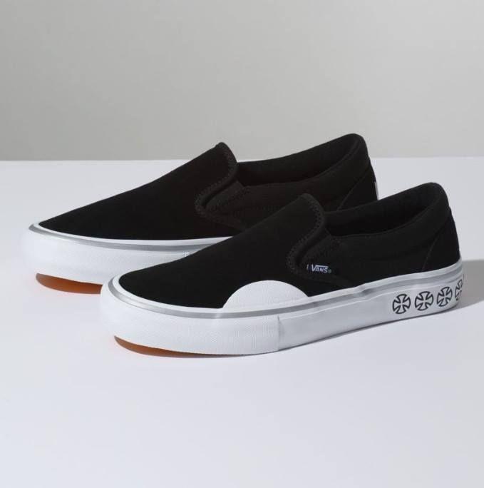 Vans Shoes Slip On Pro Independent Black White 5 Snapchat Https Ift Tt 2izonfx Vans Slip On Pro Vans Vans Classic Slip On Sneaker