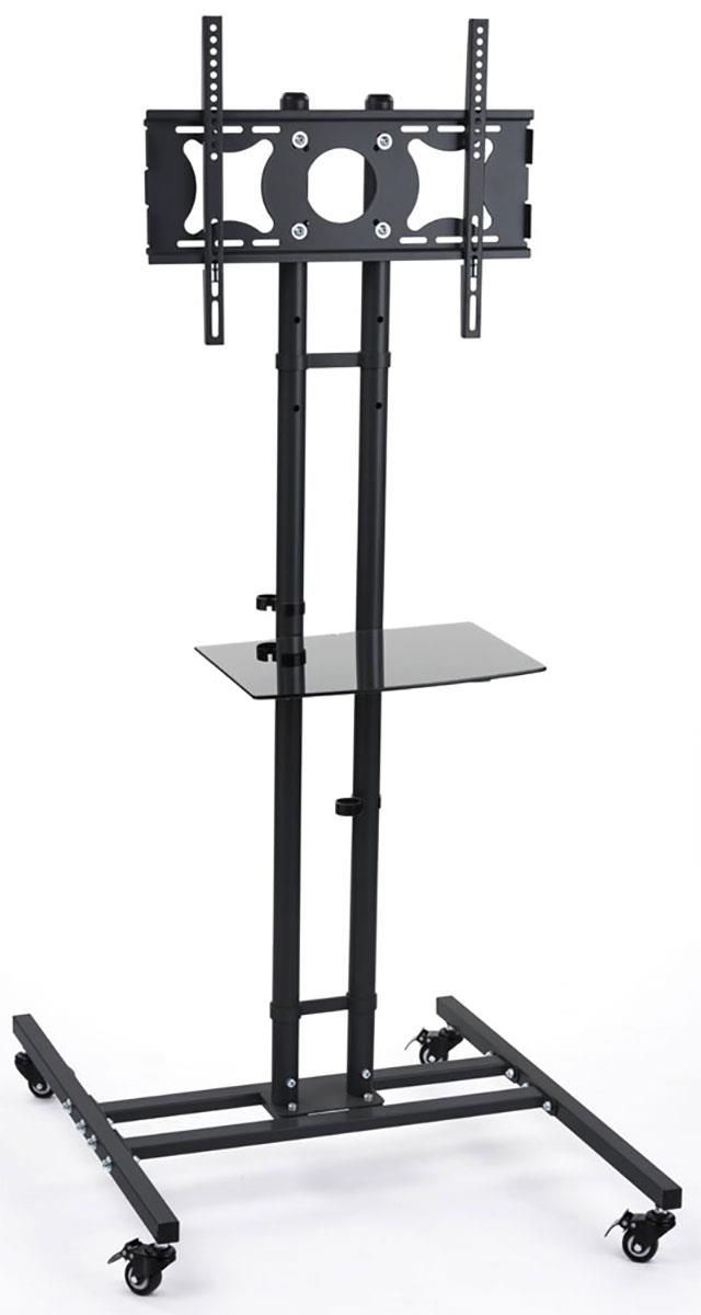 TV Stand on casters, can move TV to either room in the house?