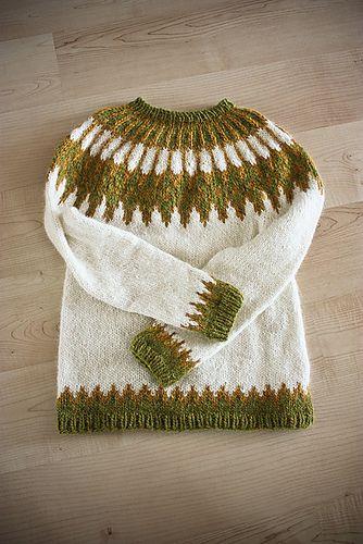 Icelandic hand-knit sweater