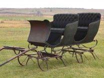 Vintage Two-Seat Bob Sleigh-