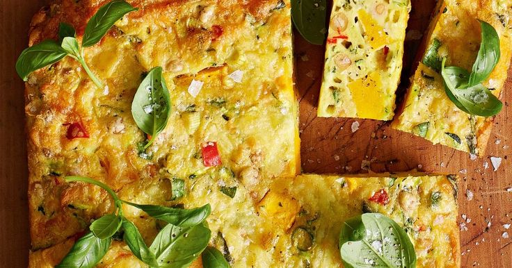 Pumpkin, chickpea and chilli turn this easy zucchini slice into a vegetarian staple.