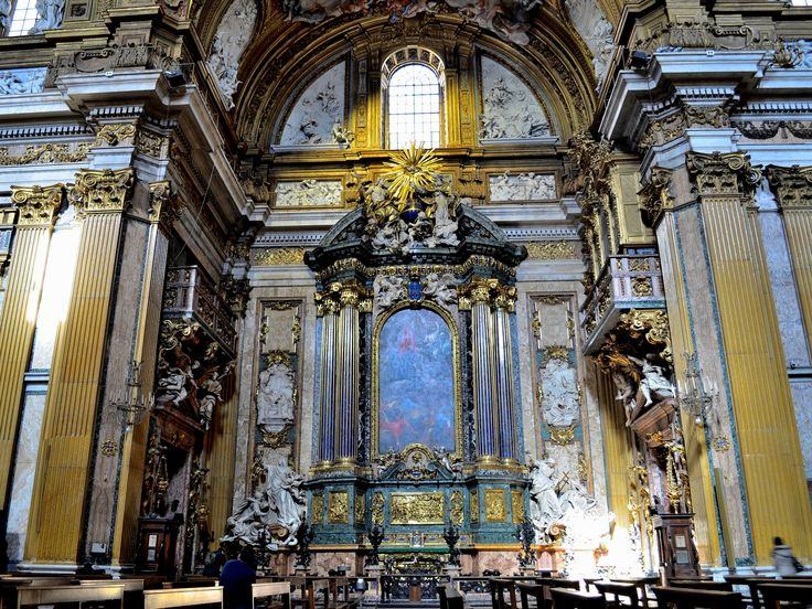 118 best images about baroque architecture italy on pinterest for Baroque style church