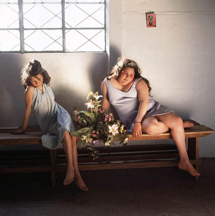 Alessandra Sanguineti,   The Models, 2000  From the series The Adventures of Guille and Belinda and the Enigmatic Meaning of Their Dreams  C-print
