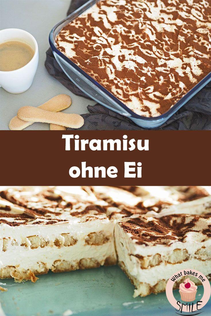 Köstlich cremiges Tiramisu ohne Ei und nach Wunsch ohne Alkohol