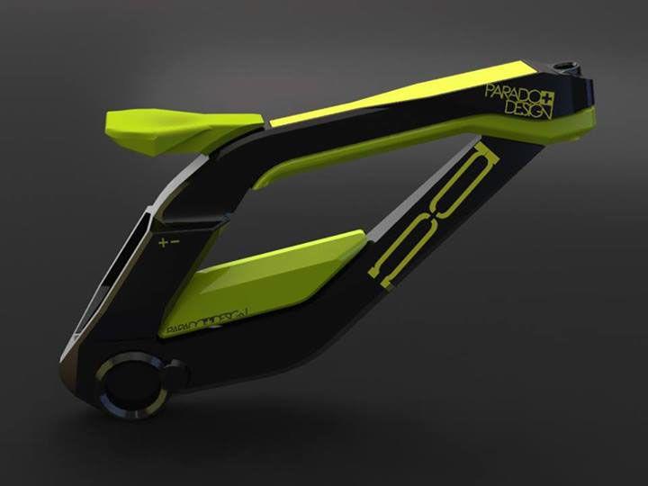 E Bike Concept Design On Behance