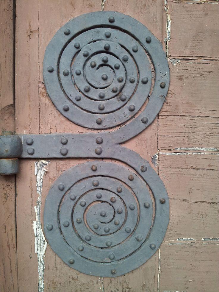 Hvittrask door