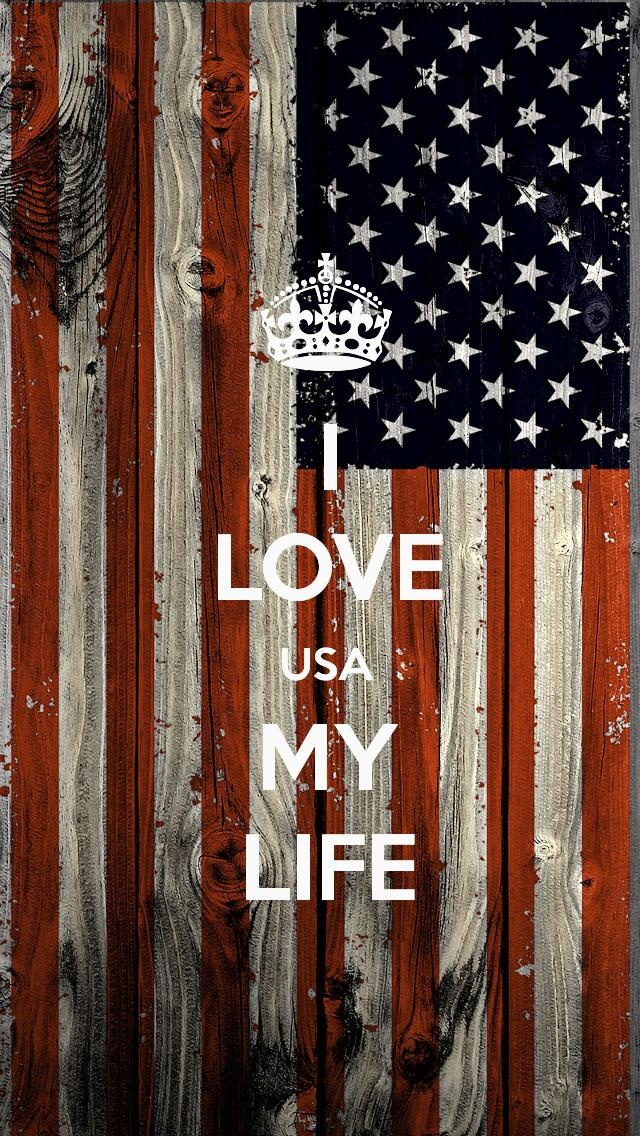 i love usa my life the iphone 5 keep calm wallpaper i just pinned - Trending Wallpaper