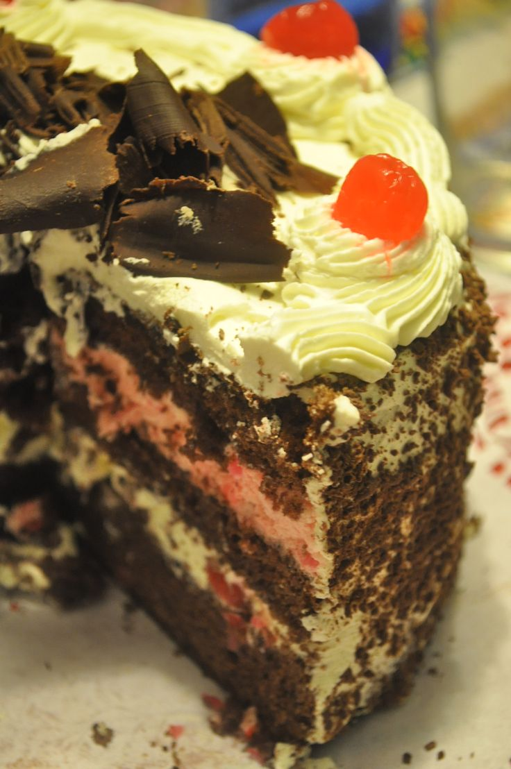 Torta Selva negra!!! Con un toque personal!