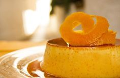Pudim de laranja cremosíssimo