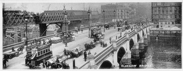 Glasgow Bridge, Glasgow, Scotland.