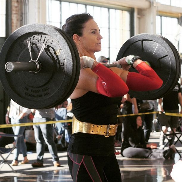 Kettlebell Training For Athletes: Unbroken Designs Gold Weightlifting Belt On CrossFit