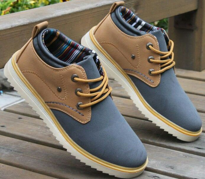 Mens Fashion Trends new fashion trend of men's shoes Korean daily leisure  men's shoes