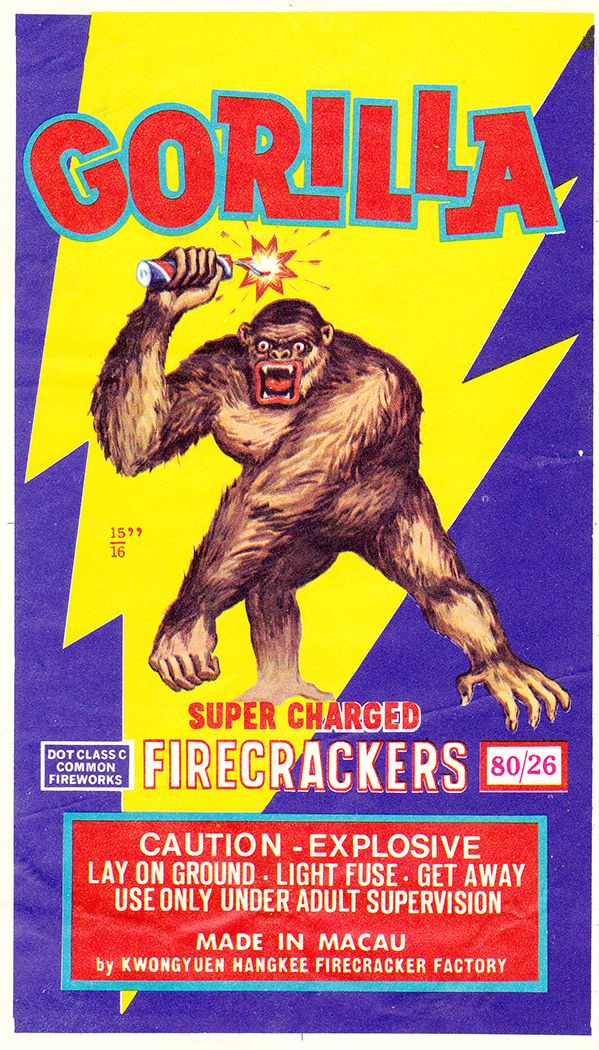 Gorilla Brand Super Charged Firecrackers
