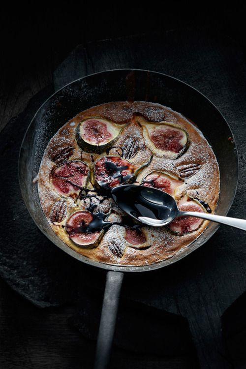 fresh fig & pecan torta