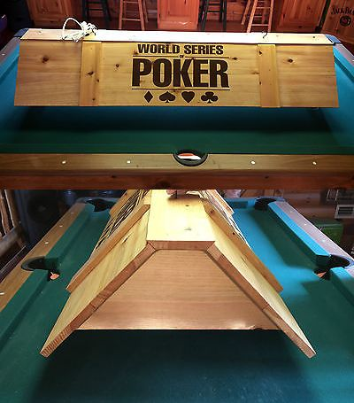 Table Lights and Lamps 75189: New World Series Of Poker Card Game Light Or Pool Table Billiards Light -> BUY IT NOW ONLY: $199.99 on eBay!