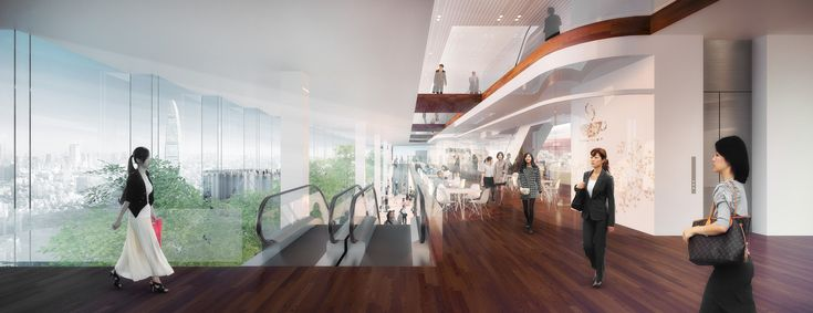 Gallery of PLP Unveils Pearl River Delta's Tallest Building as Part of New Masterplan - 7