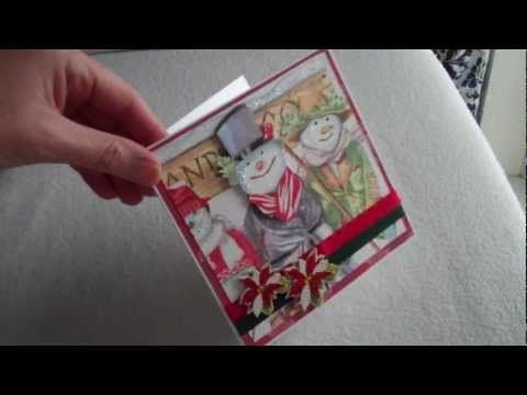 Kaarten maken met servetten, huishoudfolie en een strijkijzer  Zelf gebruik ik 2 lagen bakpapier dat gaat beter als het papier dat in dit filmpje gebruikt wordt -YouTube
