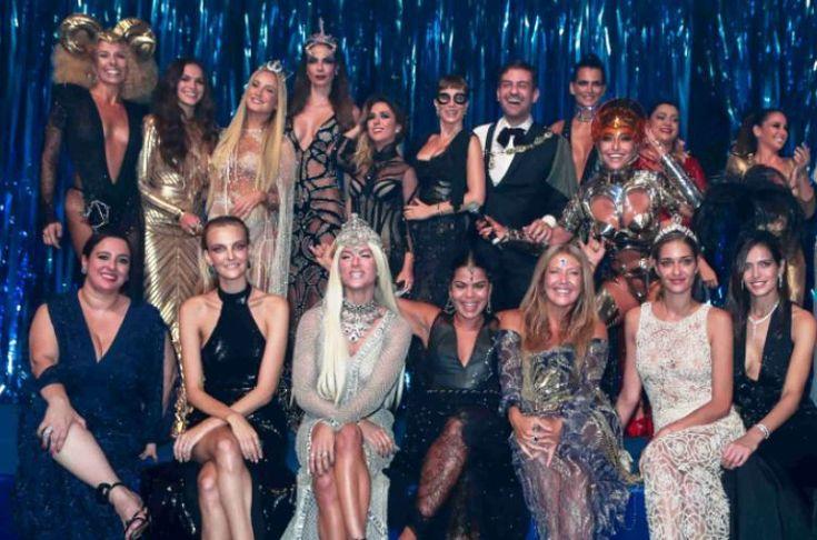 Com o tema de Lady Zodiac, o Baile da Vogue 2017 contou com produ��es incr�veis! Confira fotos e babados! - Veja mais em: http://vilamulher.uol.com.br/famosos/mundo-da-fama/baile-da-vogue-2017-os-looks-e-fofocas-da-festa-m0217-730913.html?pinterest-mat
