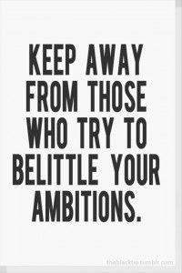 Keep away.