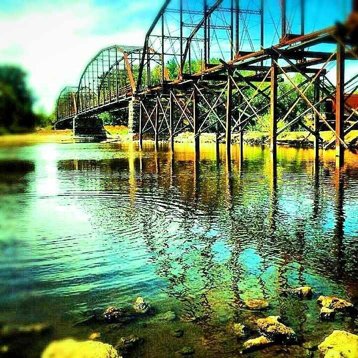 Sutliff Bridge.  Sutliff, Iowa.  LOVE going to Sutliff!