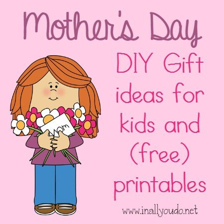 Mother 39 s day gift ideas for kids for Mothers day gifts for kids to make