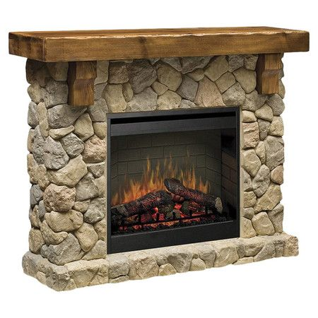 Best 25 Stone Electric Fireplace Ideas On Pinterest