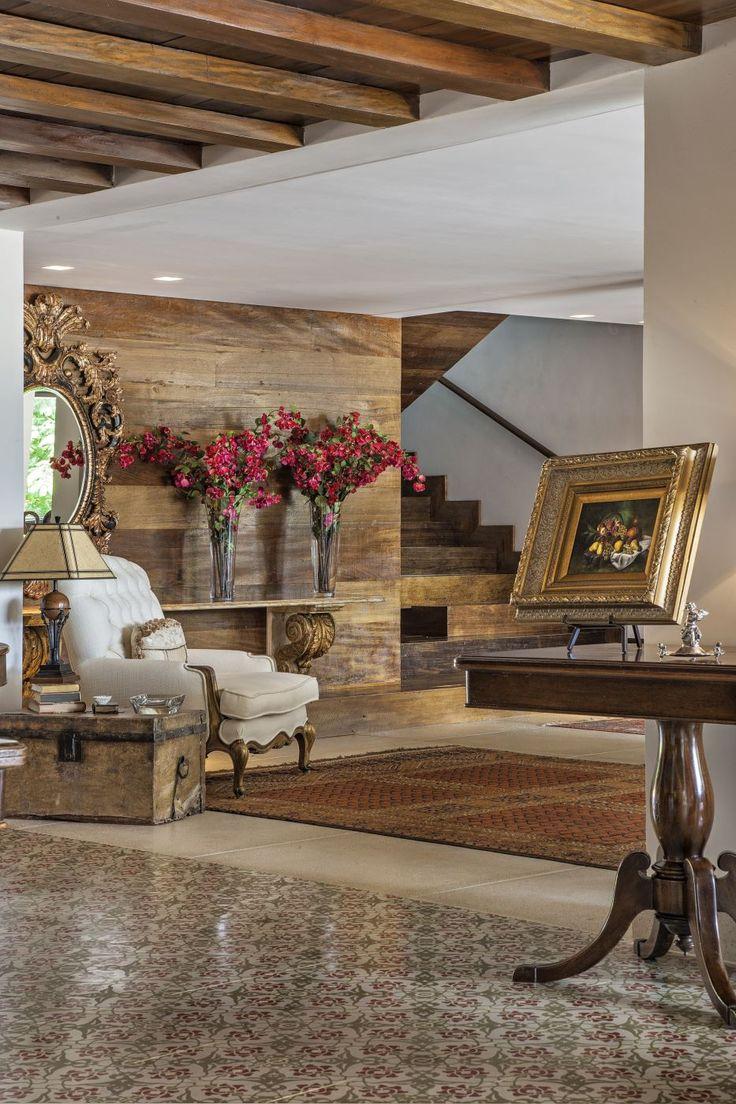 Decor Salteado - Blog de Decoração e Arquitetura : Casa de fazenda rústica e sofisticada maravilhosa! Entre e conheça todos os ambientes!