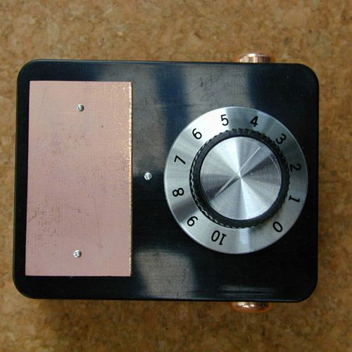 Simple Single Dial Radionics Device Radun101