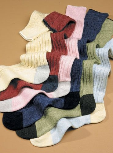 when will I pay $54 for socks? cashmere.